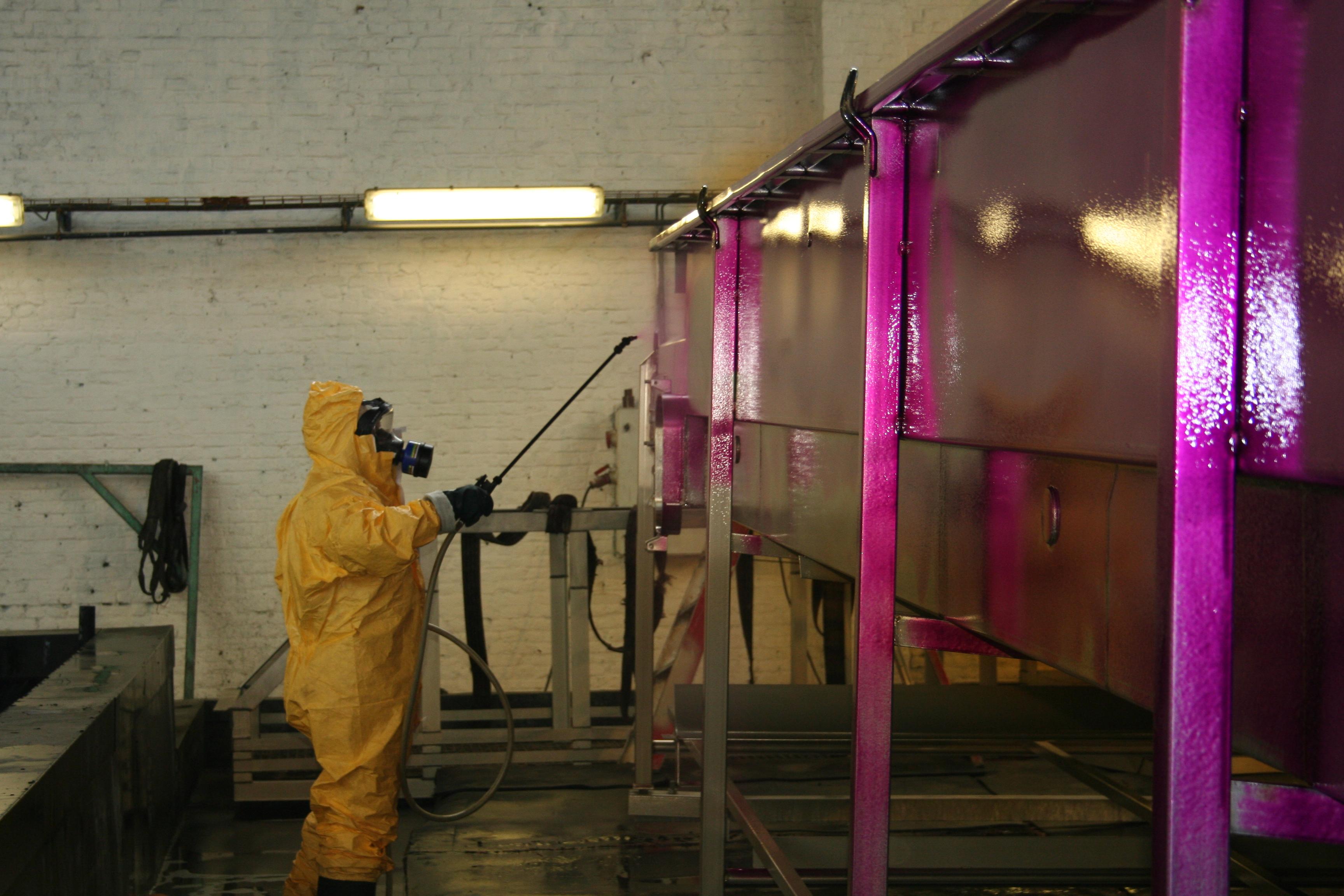 decapage par pulverisation en no s ateliers